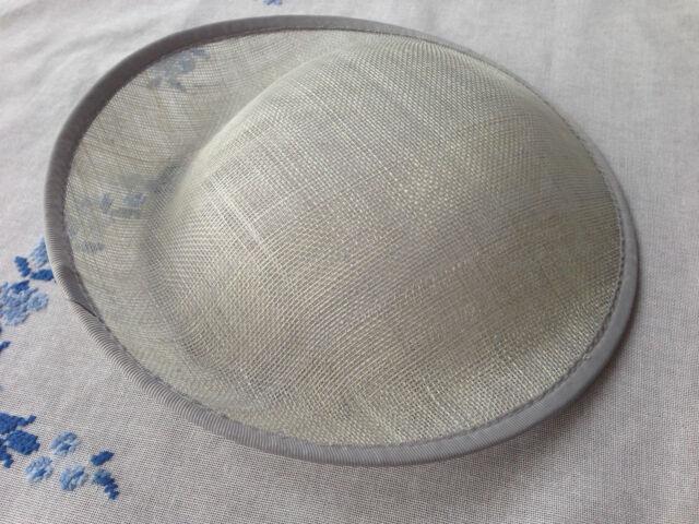 Hat  Sinamay Dipped  Base 25*24.5 cm