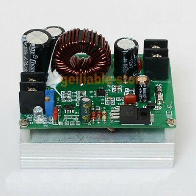 New 800W Boost DC-DC Converter Power Supply Step-up Module 10A 12-80V to 12-80V