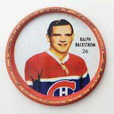 Shirriff Ralph Backstrom #26 Montreal Canadiens NHL Hockey Metal Coin A507