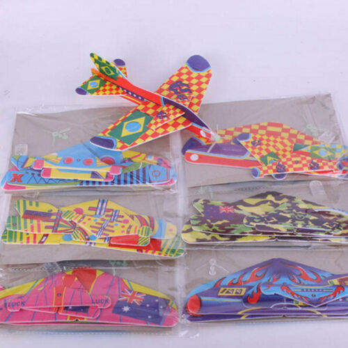 Stretch Flying Glider Planes Aeroplane Children Kids Toys Game Cheap Gift FDCA