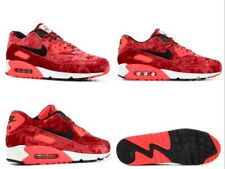 95e4e0ca97fabf Authentic Nike Air Max 90 Red Velvet 25th Anniversary Infrared 725235-600  US10.5