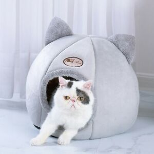 Pet-Dog-Cat-Tent-House-Kennel-Winter-Warm-Nest-Soft-Foldable-Sleeping-Mat-Pad