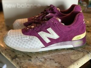 newest 13ded ce1e2 Details about New Balance 576 limited Edition Purple Reflective M576LERP  RARE size 10 US