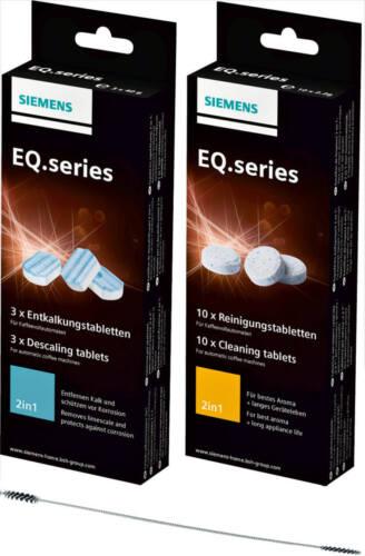 TZ80001 10 Reinigungstabletten EQ NEU SIEMENS 3 Entkalkungstabletten TZ80002