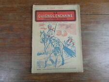 Revue LE GUIGNOL ENCHAINE PAMPHLETAIRE ILLUSTRE No 13 (10 Sept.1922) JOHN BULL