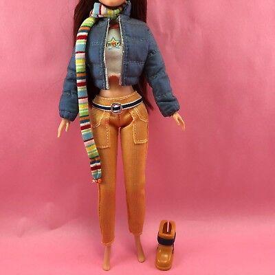 Barbie My Scene Chelsea Completo 2003 Chillin Out Giacca Sci Invernale Pantaloni