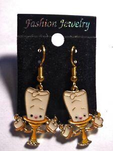 Beauty And The Beast Earrings Ebay
