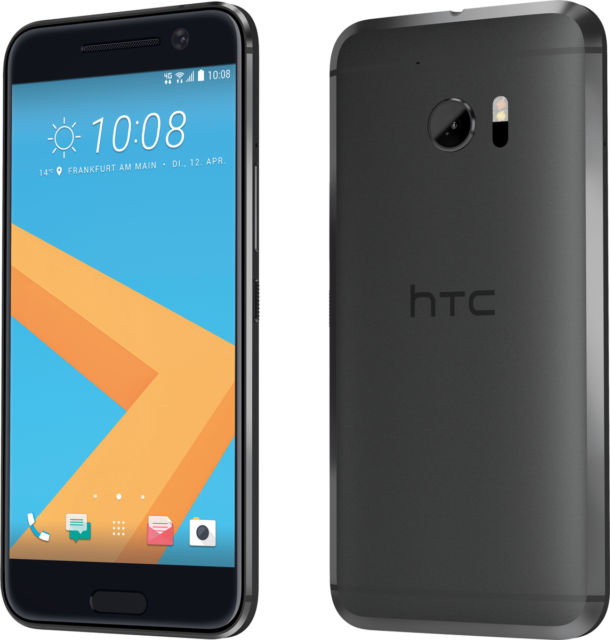 HTC 10 grau 32GB LTE Android Smartphone ohne Simlock 5,2 Zoll Display 12 MPX