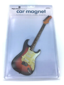 Fender-Guitar-Car-Bumper-Magnet-NEW-in-package-10-inches