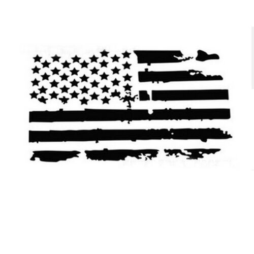 """20/""""x35/"""" USA Flag Style Car Hood Engine Cover Graphics Decal Sticker Waterproof"""