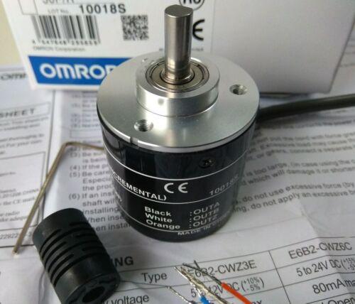 1x Omron 1500P incremental Codificador Rotatorio 1500p//r 5-24 V DC E6B2-CWZ6C NPN