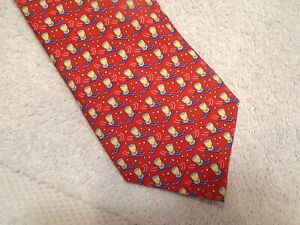 vineyard-vines-Red-Shotski-Pattern-100-Silk-Tie-NWT-85-Made-in-USA