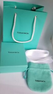Tiffany Co Gift Box Pouch Ribbon