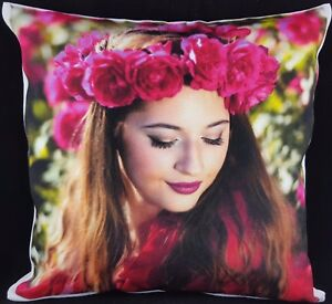 Personalised-Cushion-Cover-Large-Printed-Photo-Family-Lovely-Gift-CANVAS