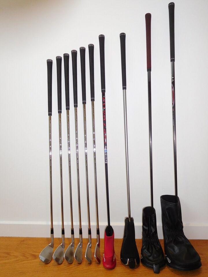 Herre golfsæt, stål, Srixon