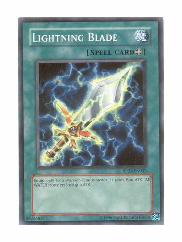 Lightning Blade Near Mint Condition YUGIOH Card Mint