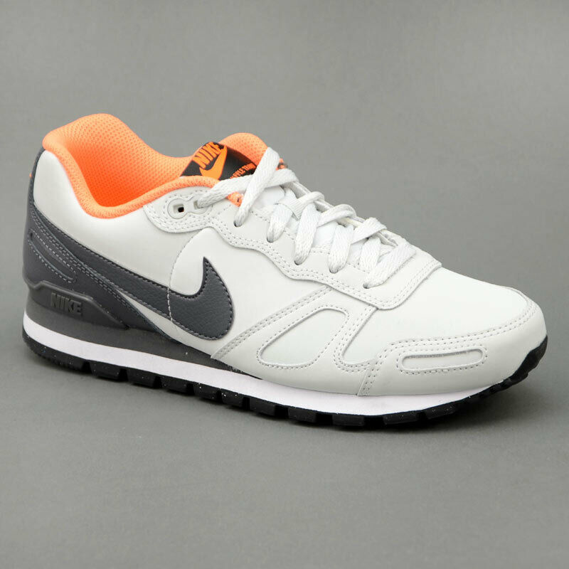 Nike AIR Waffel TRAINER LEATHER hellgrau Mod. 454395-008    | Diversified In Packaging