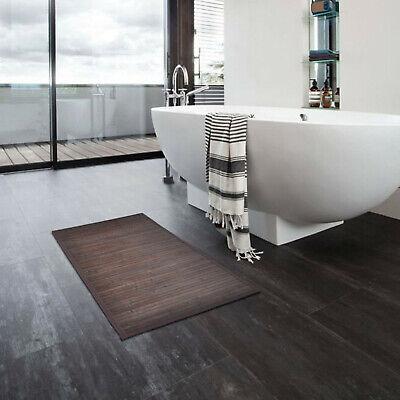 Dark Brown Bathroom Floor Mats Non Slip