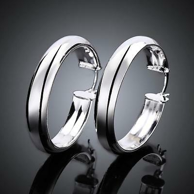 925 silver earrings ear hoop women fashion jewelry party gift