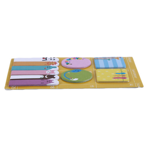 Sticky Memo Notes Index Page Bookmarks Self Adhesive Removable Tabs Set FG