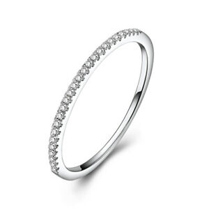 Sterling Silver 0 15ct Natural Diamonds Simple Engagement