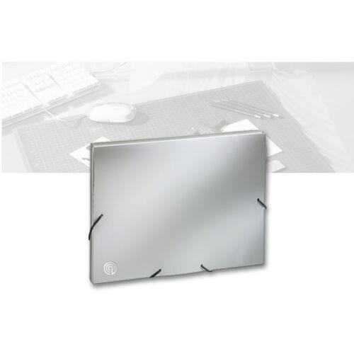 espalda anchura 30 mm Cuaderno a4 plata Ecobra 940123