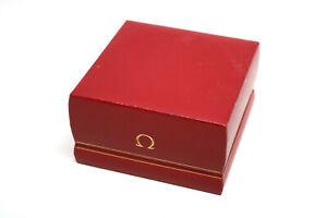 Vintage-OMEGA-Uhrenbox-Leder