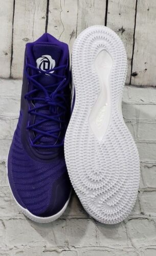 Rosa Adidas Uomo Sneaker 8 Ginnastica Basket D Taglia Derrick Da Scarpe 19 tt1TOw