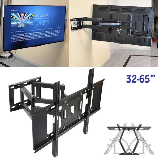 Adjustable Tilting QUAD Desk Mount Bracket for LCD LED Max 33Lbs, 10~23inch