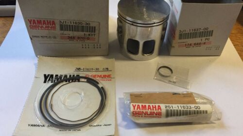 YAMAHA DT175 ENDURO 1979 1980 1981 3rd O//S 0.75mm Piston /& Rings Set N.O.S