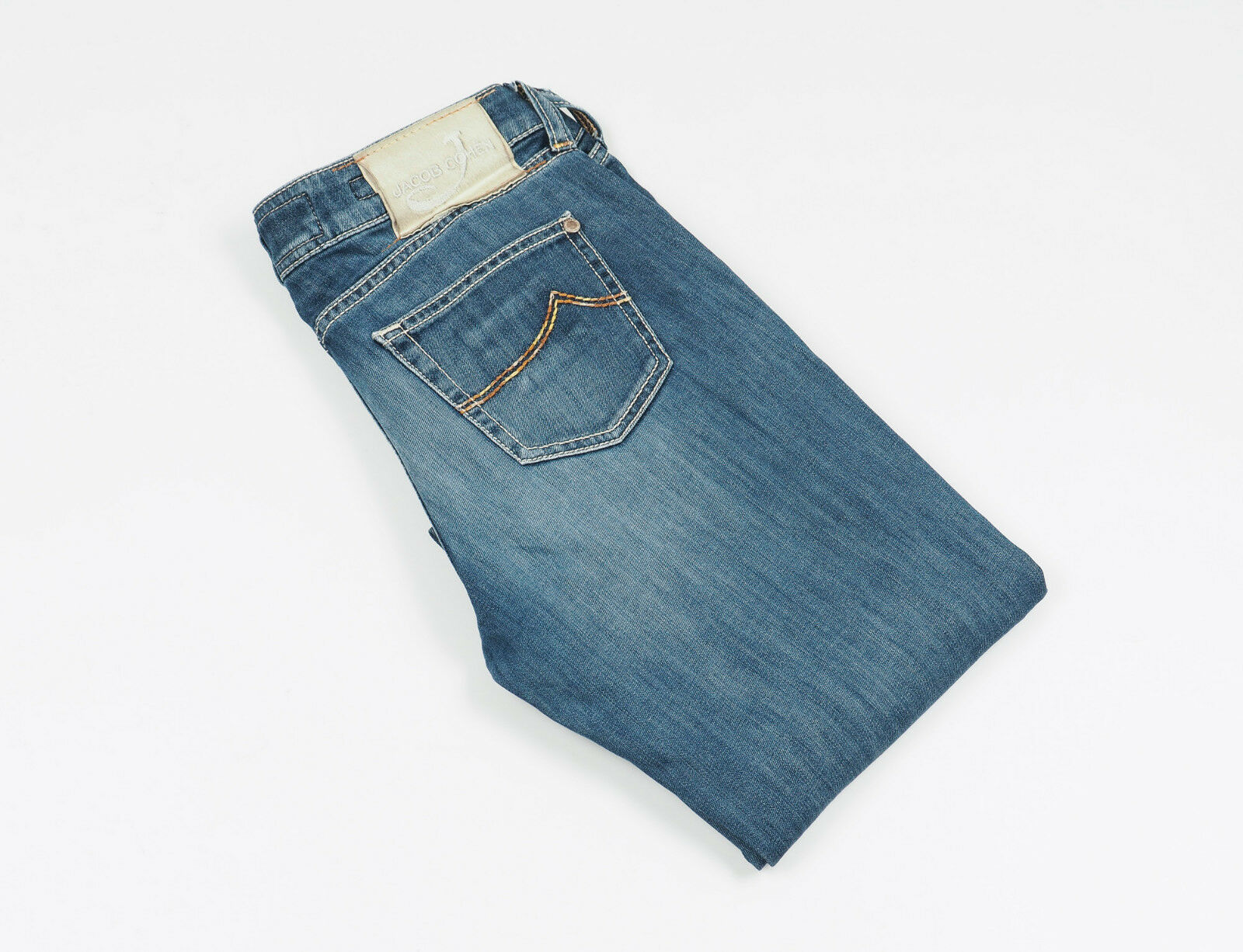 JACOB COHEN JEANS HANDMADE Womens bluee Jeans Size 29  Made in