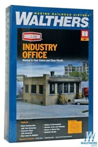Walthers-933-4020-Industry-Office-Kit-HO-Scale-Train