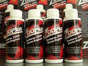 Four (4) ZDDPlus Engine Oil Additive - Restore ZDDP & Save your Engine