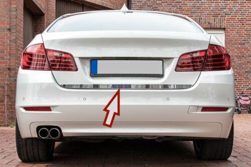 Stainless Steel Chrome Boot BAR Lower For BMW 5ER F10 Limousine Bj 2010-2016
