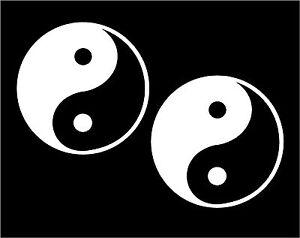 Two-Ying-Yang-Decals-Yin-Yan-Symbols-car-window-laptop-stickers-graphic