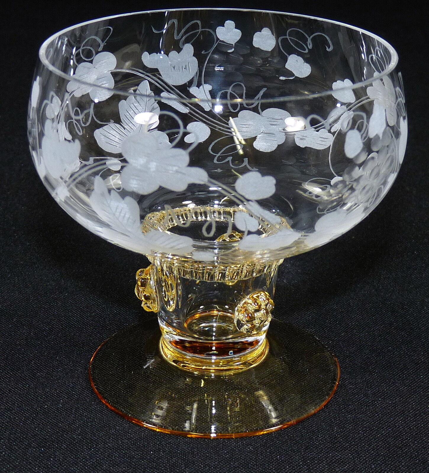 THERESIENTHAL - WEINGLAS Weißweinglas Glas Glas Glas - BEERENNOPPEN Bernstein WEINRANKE | Lass unsere Waren in die Welt gehen  ac71df