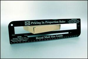 Black ruler royal mail ppi letter size guide post office price image is loading black ruler royal mail ppi letter size guide spiritdancerdesigns Images