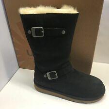 Girls UGG Kensington Brown Boot Leather