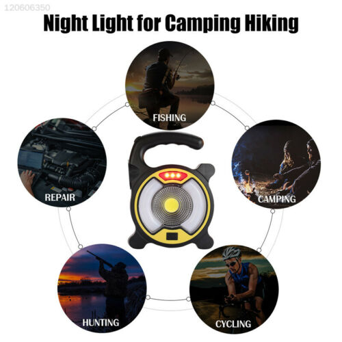 2000LM Emergency Light Tent Lamp Solar Energy Outdoor Portable Camping Lights