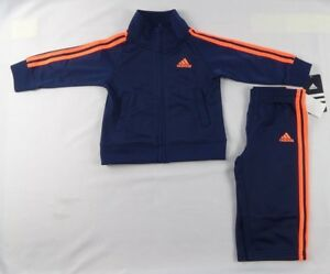 adidas-Baby-Boys-039-set-2-Piece-Action-Tricot-set-size-12-months