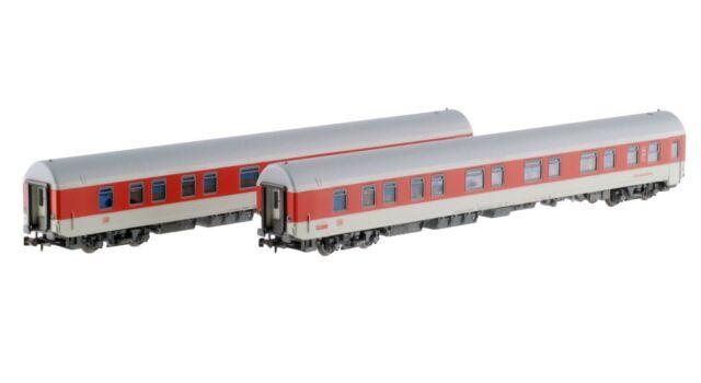 LS Models 76031 DBAG NachtZug Set 2x1./2.Kl Schlafwagen hellgrau/rot Ep5 Neu+OVP