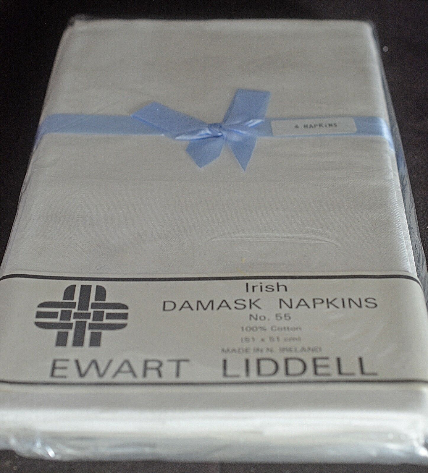 12 Irlandese Damasco Tovaglioli Nip Ewart Liddell TT855