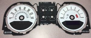OEM Ford Mustang 6-Gauge, 140 MPH Speedometer Graphic Overlay