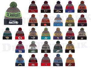 9db303b2830 New Era 2016 NFL Official Sideline Sport Knit Hat Mens Beanie On ...