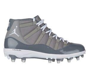 Jordan-XI-Retro-TD-Cool-Grey-Black-White-Mens-Football-Cleats-AO1561-003