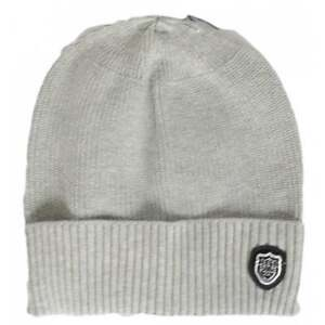 Image is loading 883-Police-Sotto-Ribbed-Cotton-Grey-Beanie-Hat 4f41416e1231