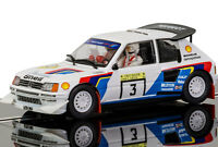 Scalextric Peugeot 205 T16 1000 Lakes Rally 1985 Slot Car 1/32 C3751 on sale