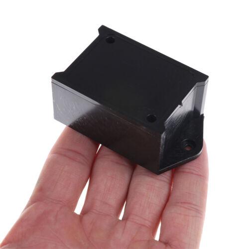 2 stücke Schwarz Kunststoff Projekt Power Protector Fall Anschlussdose 55 *TPI