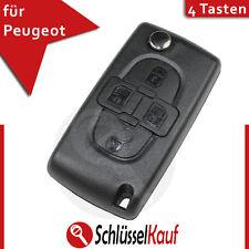 Peugeot Klappschlüssel Partner Ranch 107 407 1007 Auto Funk Fernbedienung Neu