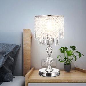 2pcs Morden Crystal Bedside Room Table, Chandelier Bedside Lamps Australia